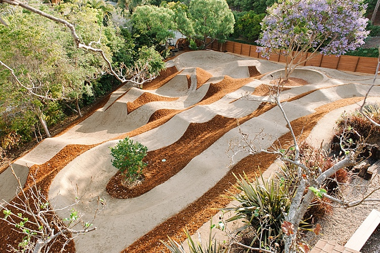 Backyard Pumptrack san juan capistrano pump track » schneider grading & excavating